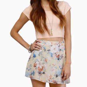 Tobi Floral Skirt